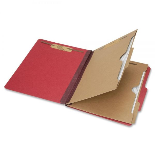 SKILCRAFT 6-Part Letter Size Classification Folders