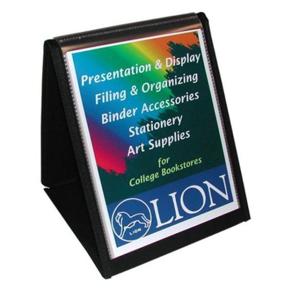 Lion Flip-N-Tell Display Easel Binder