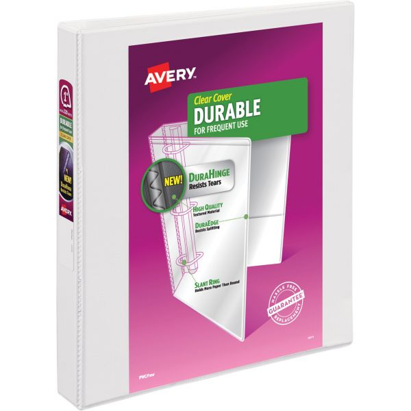 "Avery Durable Reference 1"" 3-Ring View Binder"