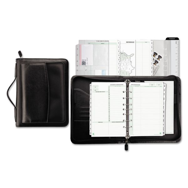 Day-Timer Briefcase Style Zip Binder Starter Set