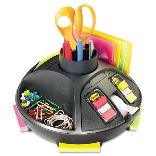 3M Post-It Rotary Desktop Organizer