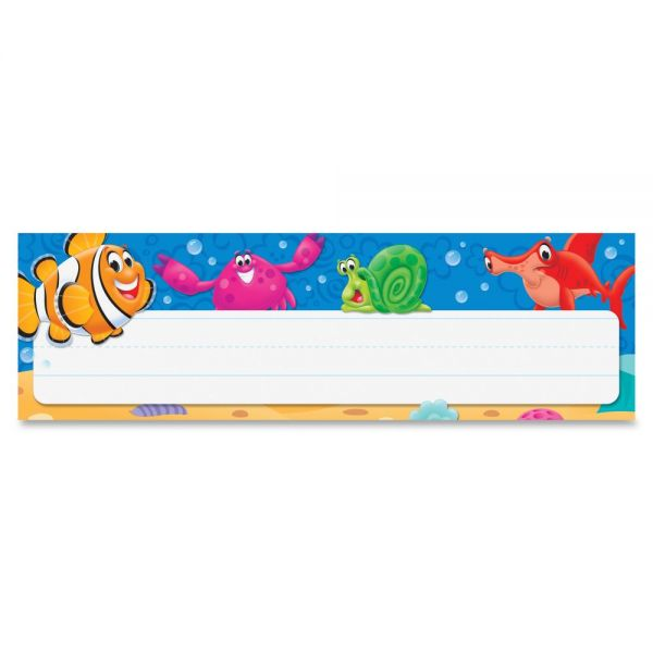 Trend Sea Buddies Desk Name Plates