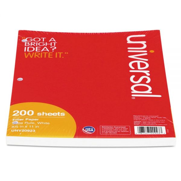 Universal Mediumweight Wide Ruled Loose Leaf Paper