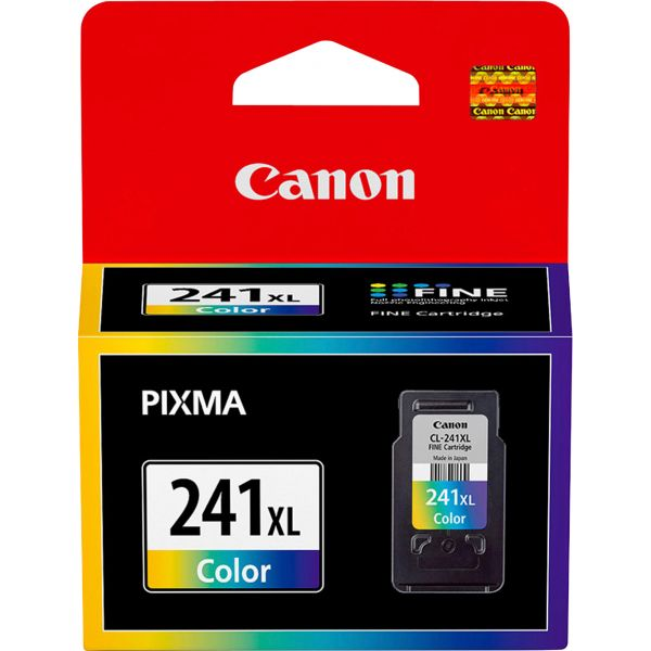 Canon CL-241XL Tri-Color High-Yield Ink Cartridge (5208B001)