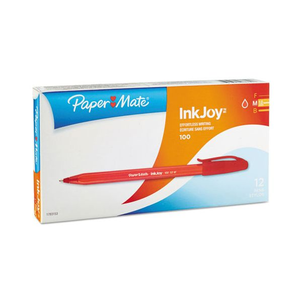 Paper Mate InkJoy 100 Stick Ballpoint Pens