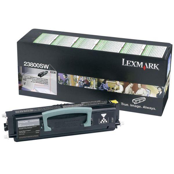 Lexmark 23800SW Black Return Program Toner Cartridge