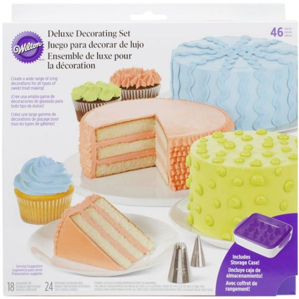 Deluxe Cake Decorating Set 46pc