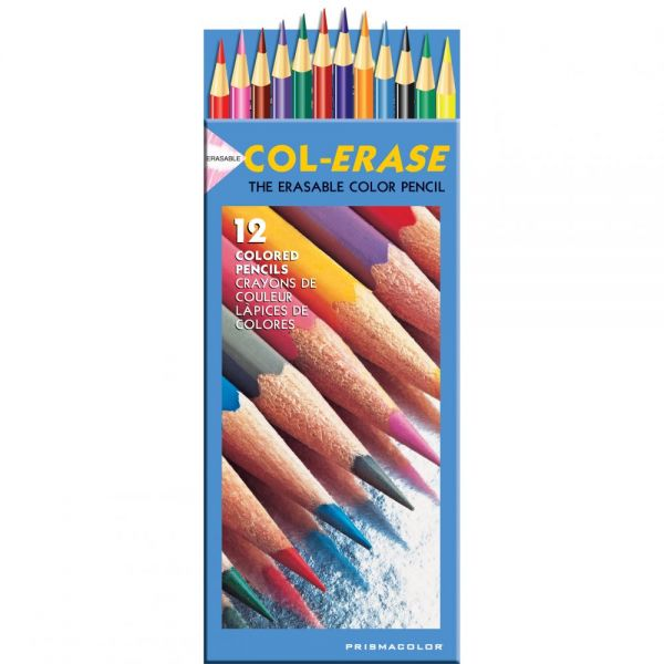 Col-Erase Erasable Colored Pencils