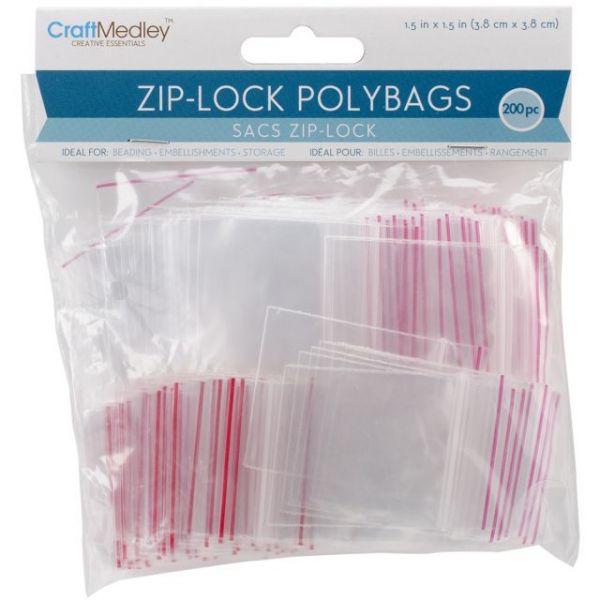 CraftMedley Ziplock Polybags