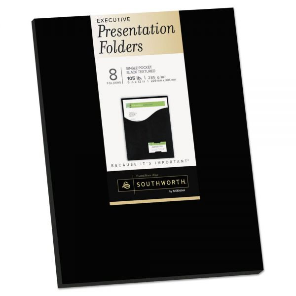 Southworth One-Pocket Presentation Folders