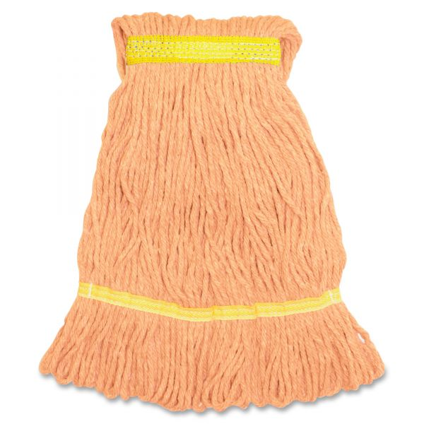 Genuine Joe Synthetic Blend Small Mop Head