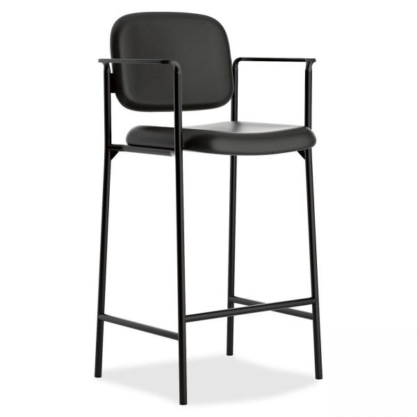 basyx by HON HVL636 Cafe-Height Stool With Arms