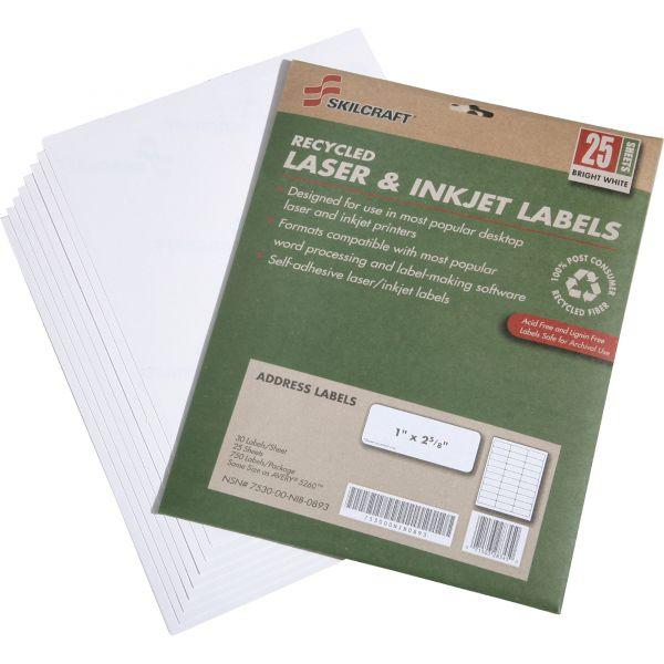 Skilcraft Address Labels