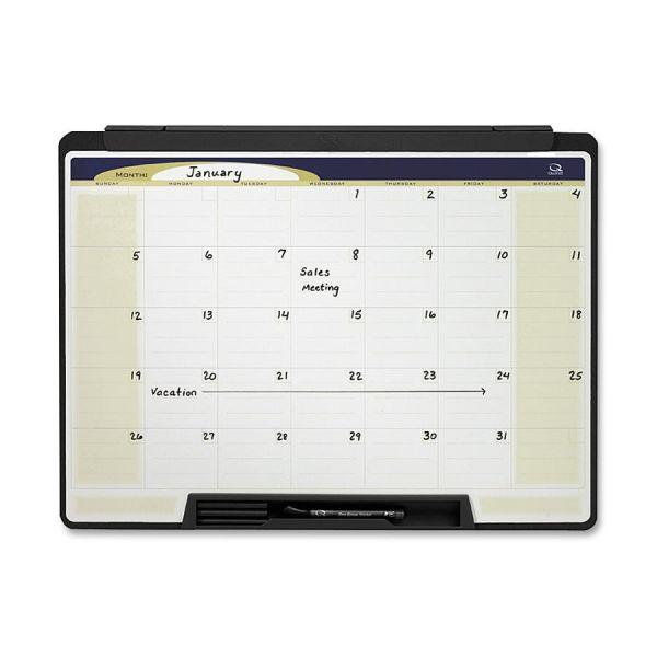 Quartet Motion Cubicle Dry-Erase 1-month Calendar
