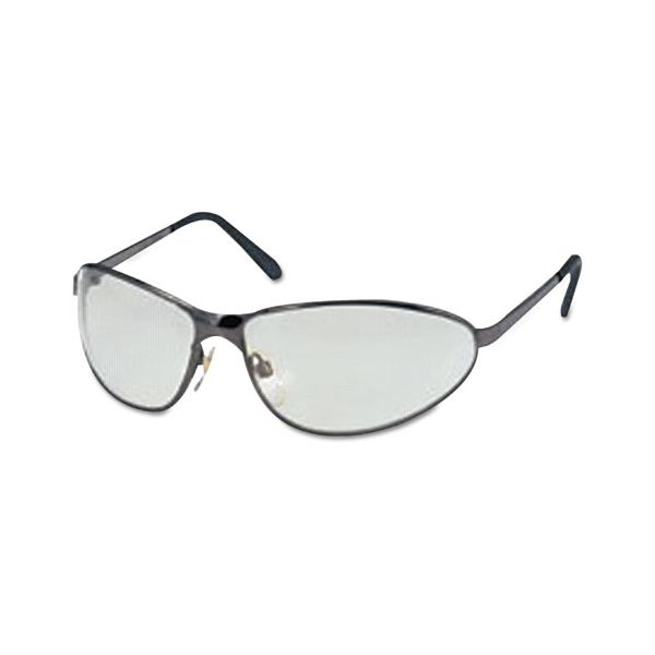 Honeywell Uvex Tomcat Safety Glasses, Gun Metal Frame, Gray Lens