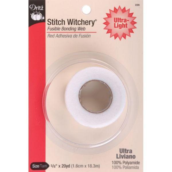 Stitch Witchery Fusible Bonding Web Ultra-Light