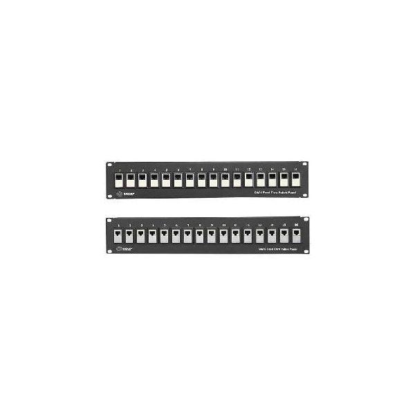 Black Box Feed-Through 24 Port Cat 5e Network Patch Panel