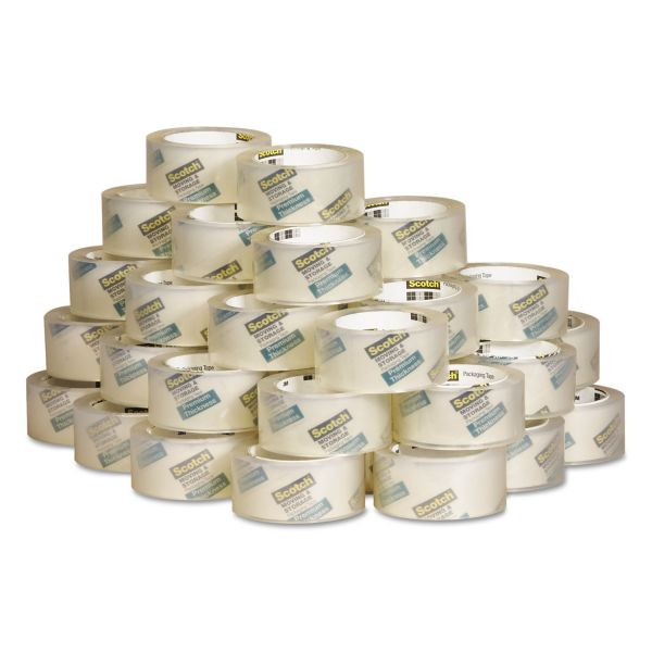 "Scotch Moving & Storage Tape Premium Thickness, 1.88"" x 60 yds, 3"" Core, 36/Carton"