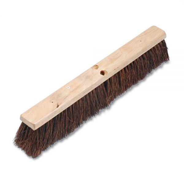 """Boardwalk Floor Brush Head, 3 1/4"""" Natural Palmyra Fiber, 24"""""""