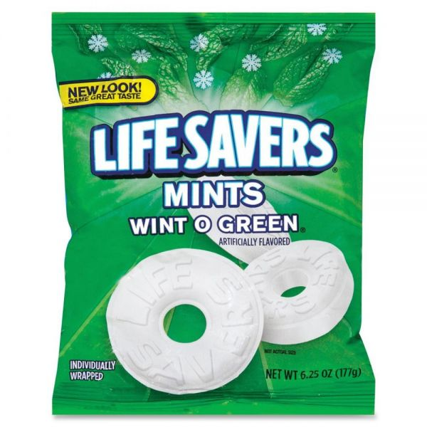 Life Savers Individually Wrapped Wint-O-Green Hard Candies