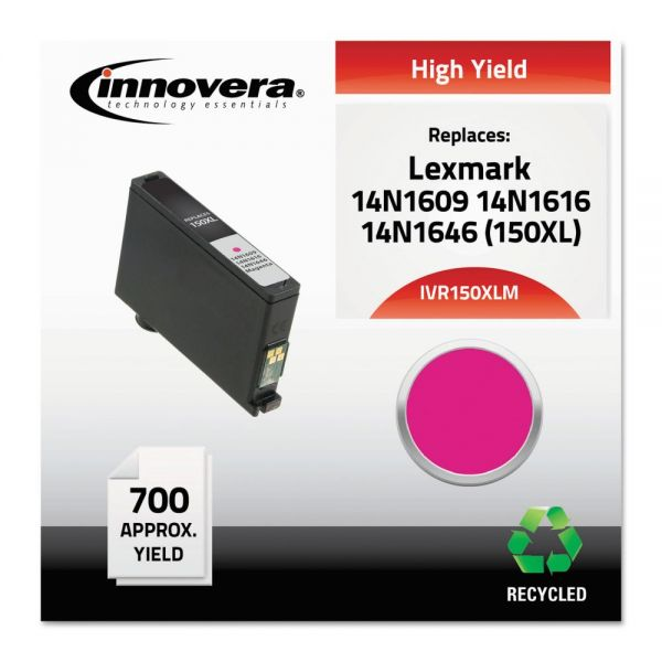 Innovera Remanufactured 14N1609 (150XL) High-Yield Ink, Magenta