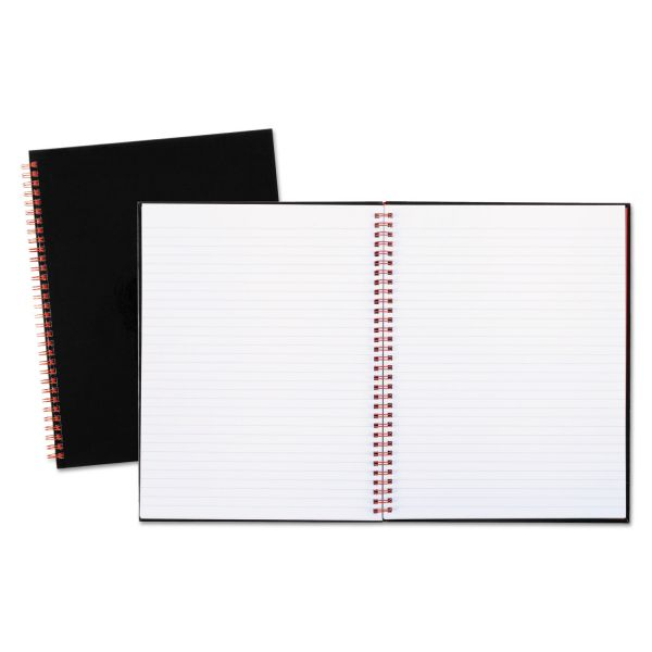 Black n' Red Twinwire Hardcover Notebook, Legal Rule, 11 x 8 1/2, White, 70 Sheets
