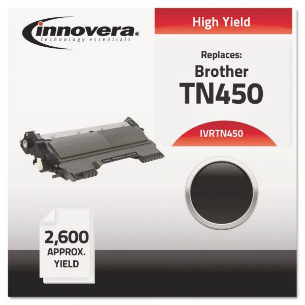 Innovera Remanufactured Brother TN450 High Yield Toner Cartridge