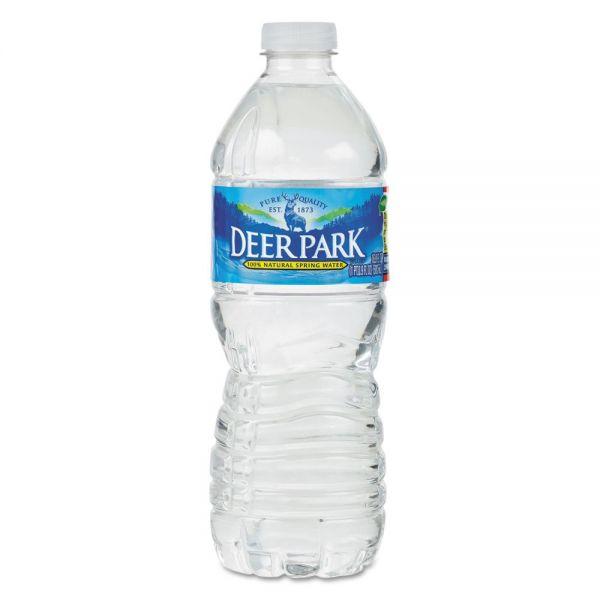 Deer Park Natural Spring Bottled Water 16 9 Oz 40 Bottles Per Case Officesupply Com