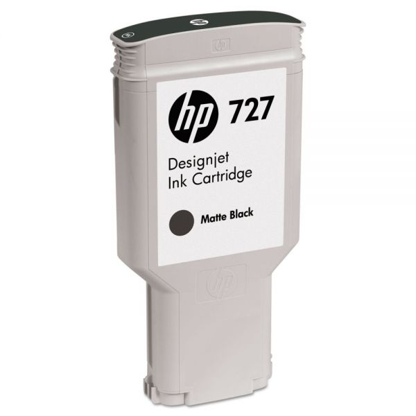 HP 727 Matte Black Ink Cartridge (C1Q12A)