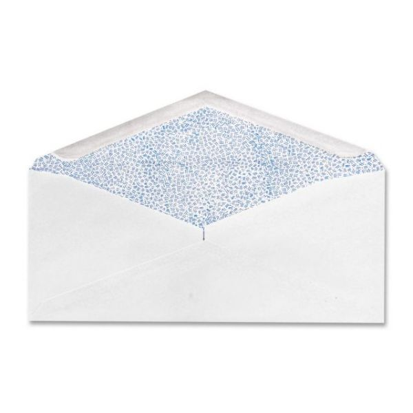 White Wove Security Tinted Envelopes