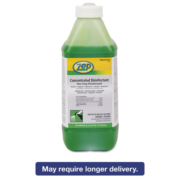Zep Concentrated One-Step Disinfectant