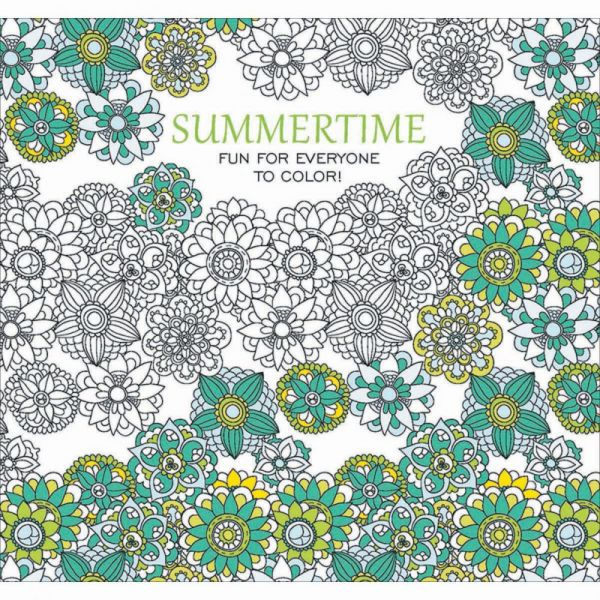 Leisure Arts: Color Summertime Coloring Book