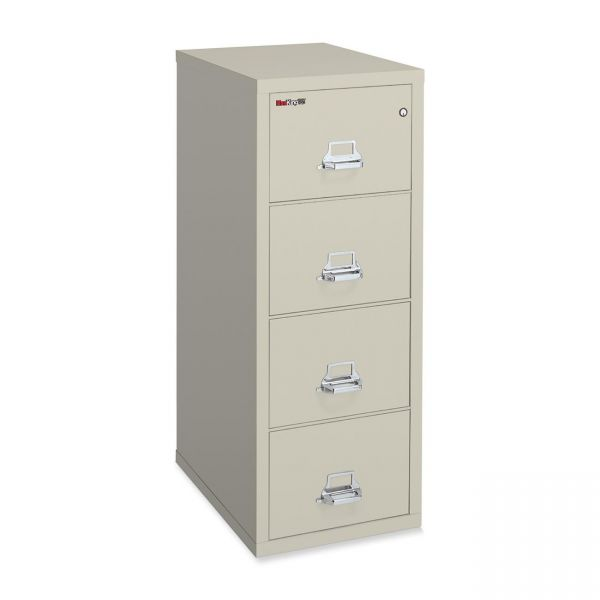 FireKing Insulated Deep Vertical File Cabinet