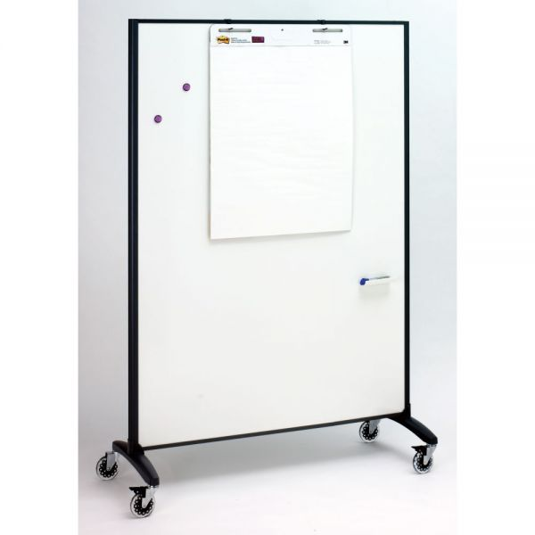 Quartet Dry Erase & Bulletin Motion Room Divider