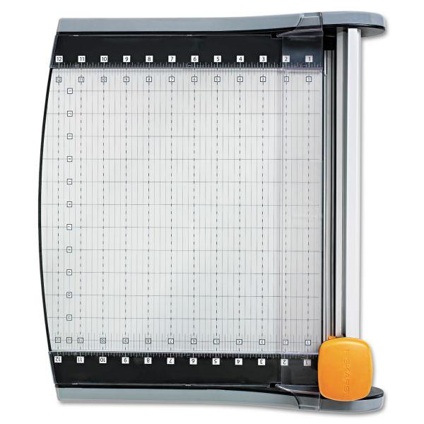 "Fiskars LED SureCut Rotary 12"" Paper Cutter"