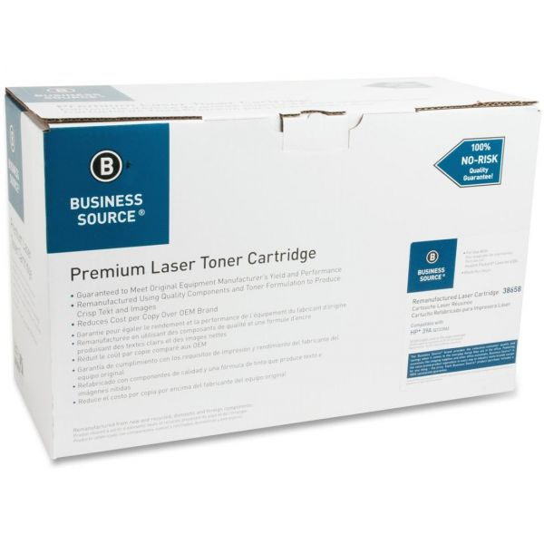 Business Source Remanufactured HP 39A (Q1339A) Toner Cartridge