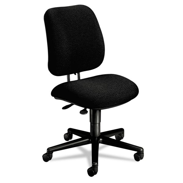 HON 7700 Series Multi-Task Swivel chair, Black