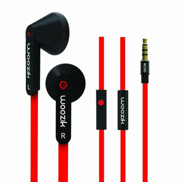 MYEPADS Super Bass 15mm Driver with Flat Cable Earphone W-290-Ear Buds on Fire