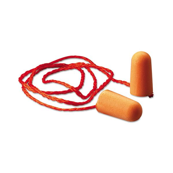 3M Corded Foam Earplugs, Hearing Conservation 1110