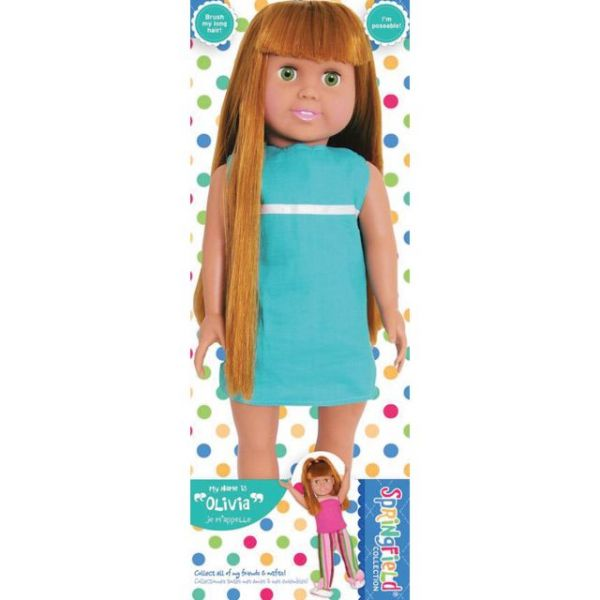 Springfield Collection Pre-Stuffed Doll 18""