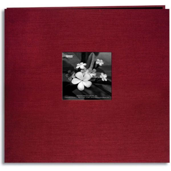 "Silk Post Bound Album 12""X12"""