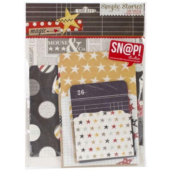 Sn@p! Memorabilia Pockets 6/Pkg