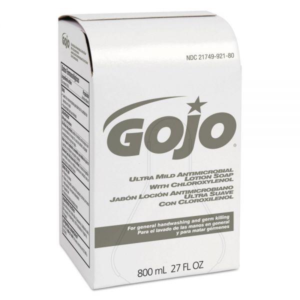 GOJO Ultra Mild Lotion Hand Soap w/Chloroxylenol Refills