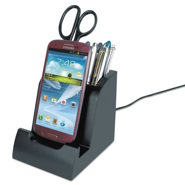 Victor Smart Charge Dock with Pencil Cup for Micro USB Devices