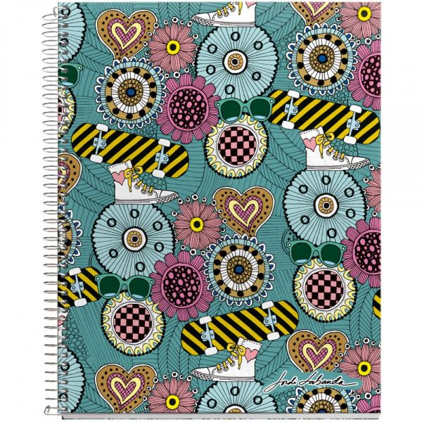 "Spiral-Bound Ruled Notebook 8.5""X11"""