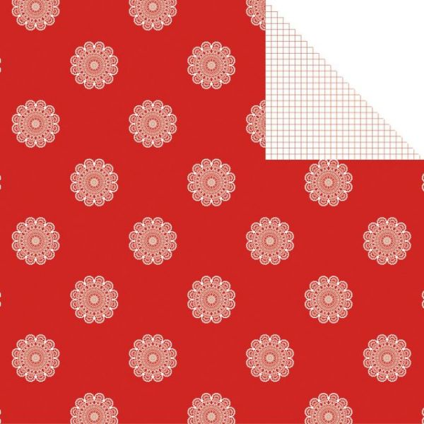 North Pole Double-Sided Cardstock