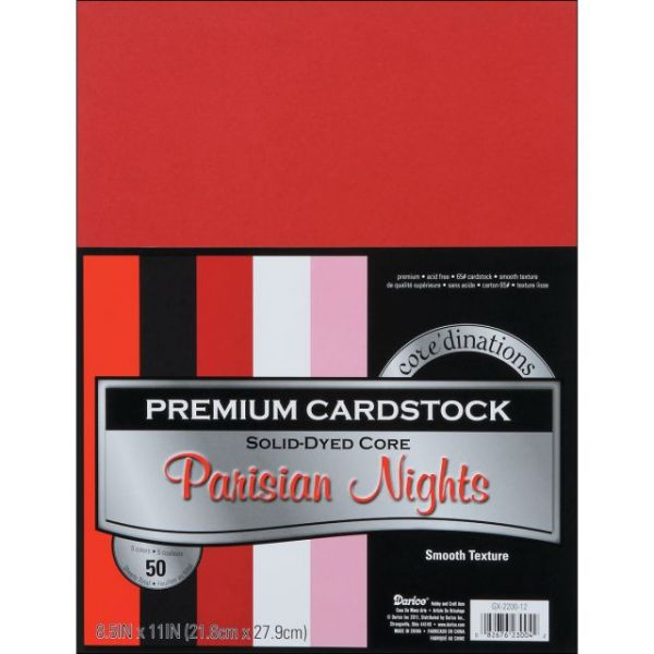 Core'dinations Premium Smooth Parisian Nights Cardstock