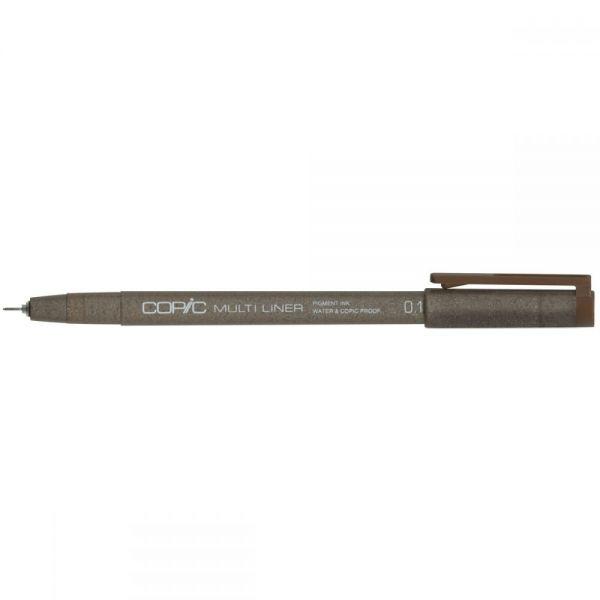 Copic Multiliner Brown Ink Pen