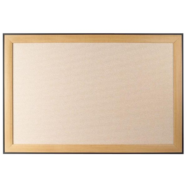 Quartet Fabric Board with Maple Frame