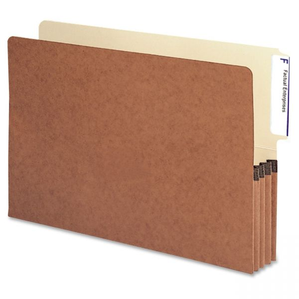 Smead Redrope Expanding End Tab File Pockets
